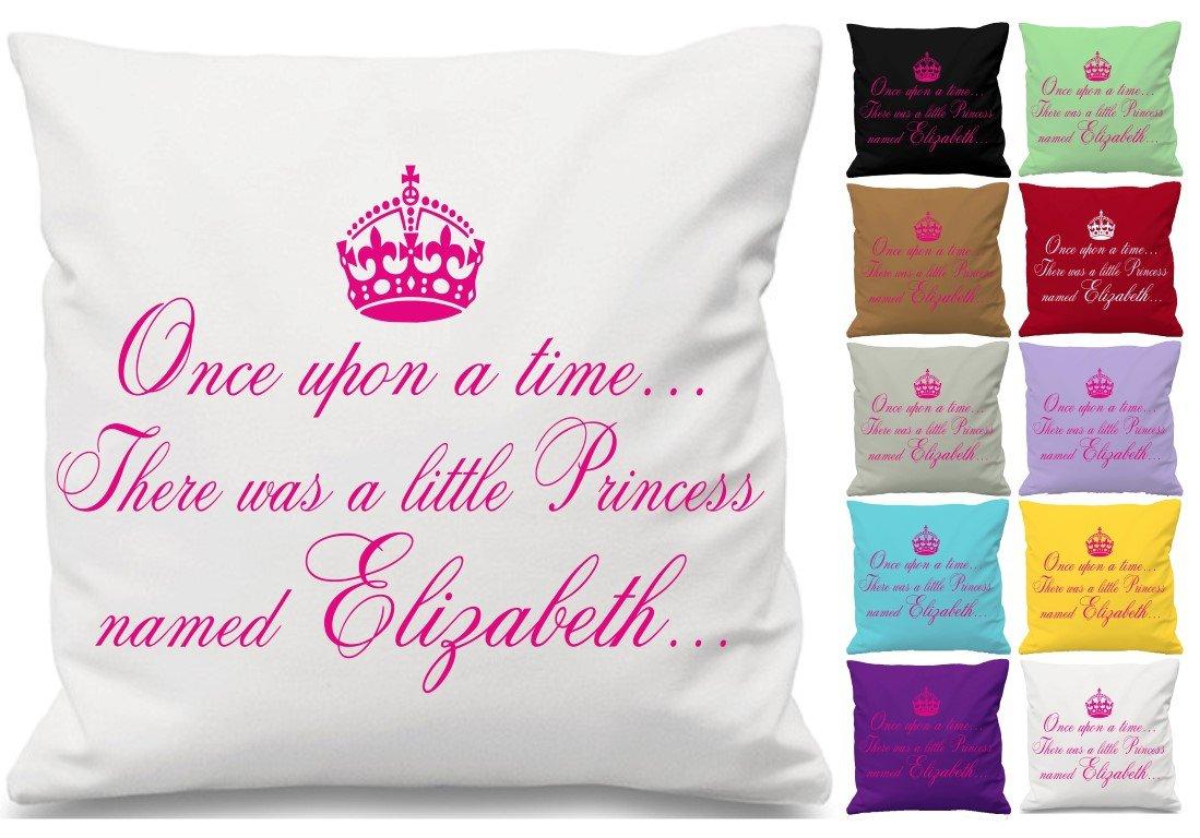 Érase una vez una princesa cita cojín manta funda de ...
