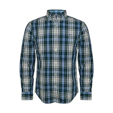 72f0d827a6cc Vineyard Vines Men s Slim Fit Whale Shirt Button Down Dress Shirt  (Charleston Green