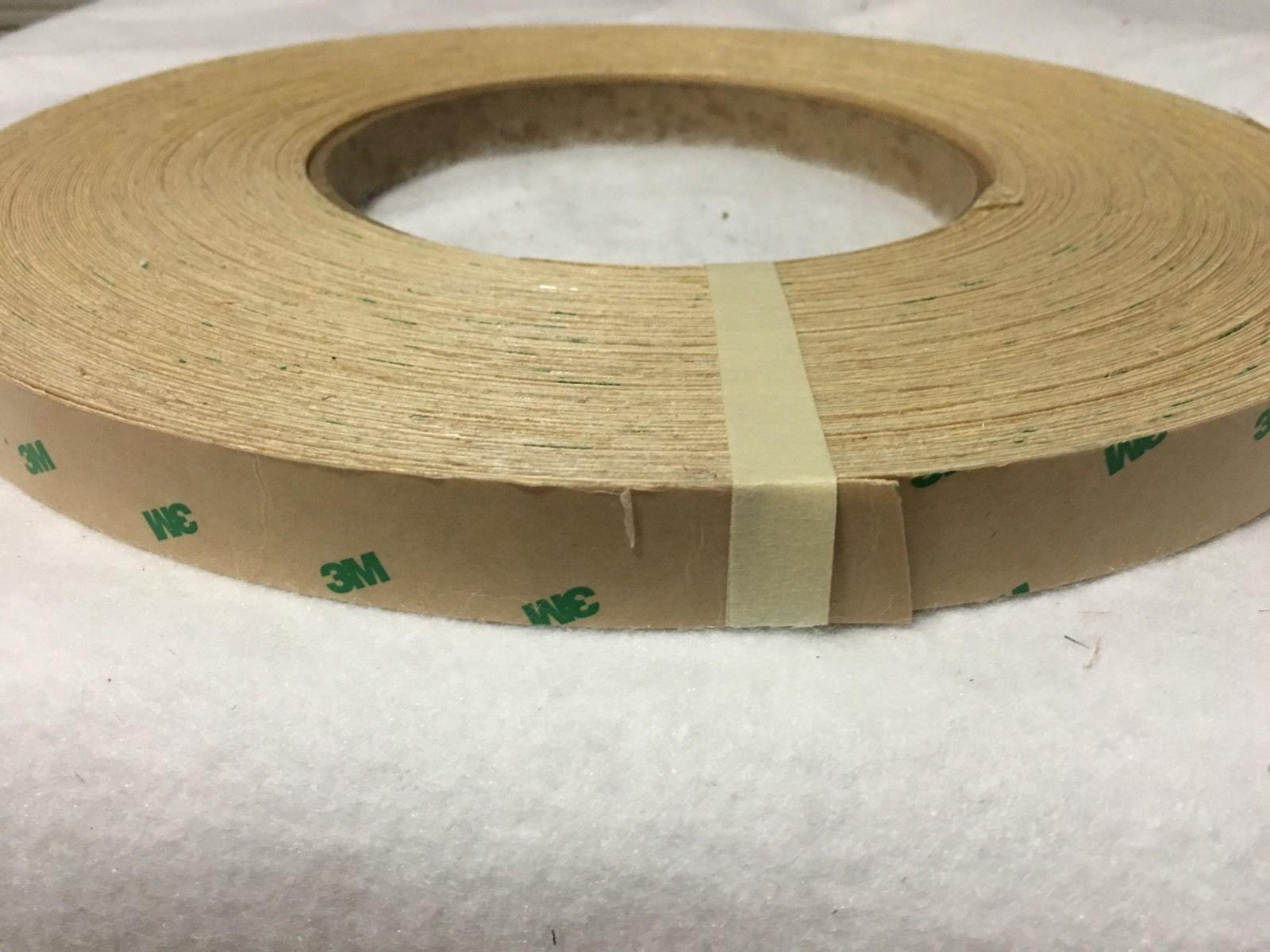 Walnut peel and stick 3/4''x50' Wood veneer edge banding (3m) PSA by (3m) PSA