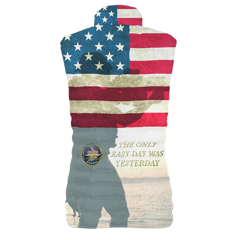 Navy Seals USA Mens Puffer Vest Bodywarmer Gilet
