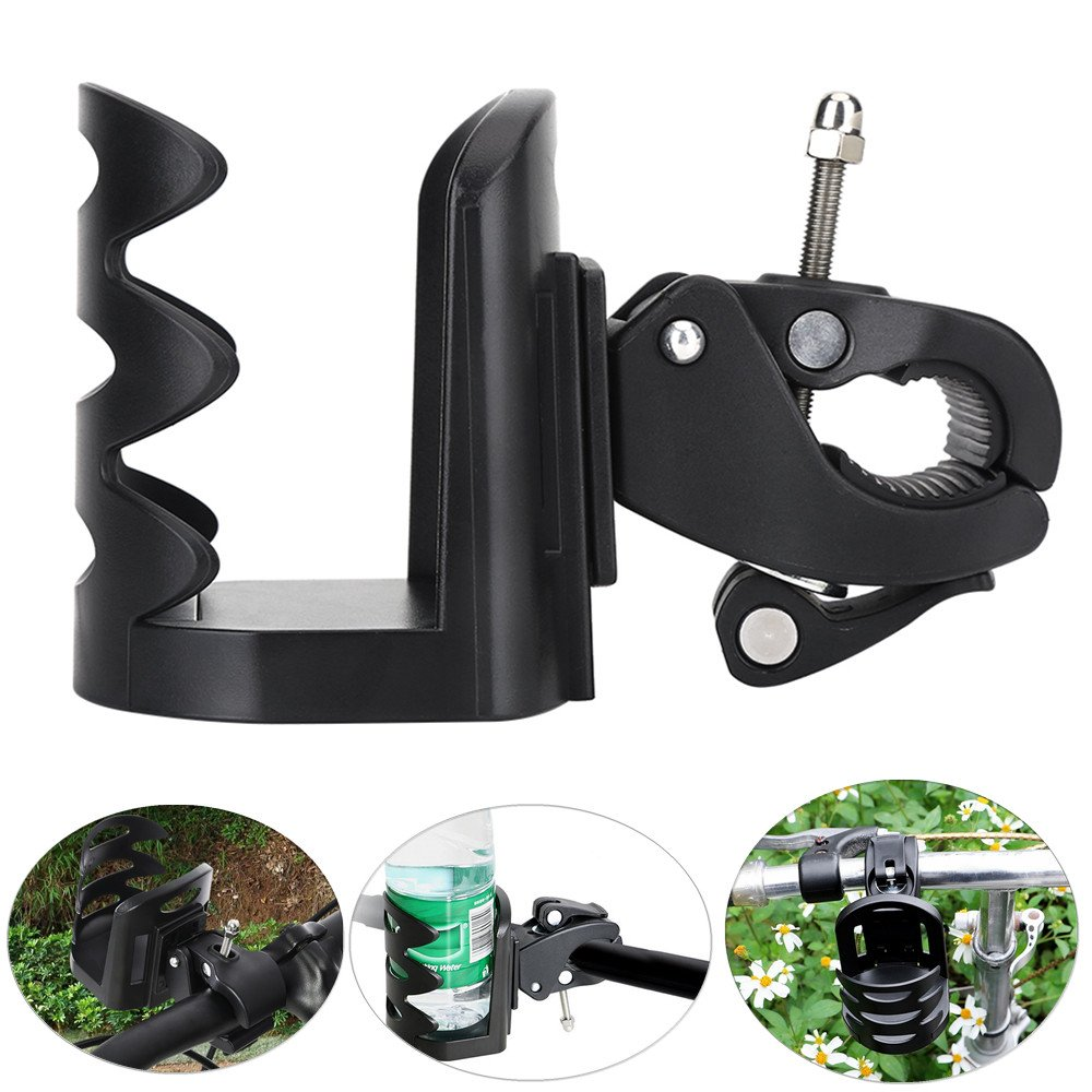 Adjustable Bike Bicycle Water Bottle Cage Bicycle Bottle Holder Oudoor Mountain Bike Cycling Water Cup Bottle Rack Holder Cage Quick and Easy to Mount