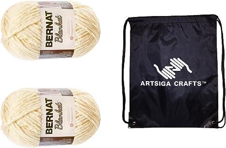 Bernat Blanket Big Ball Yarn-Vintage White Set Of 2