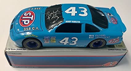 BOBBY HAMILTON #43 STP 25TH ANNIVERSARY NASCAR WINSTON CUP SERIES 8 X 10 PHOTO