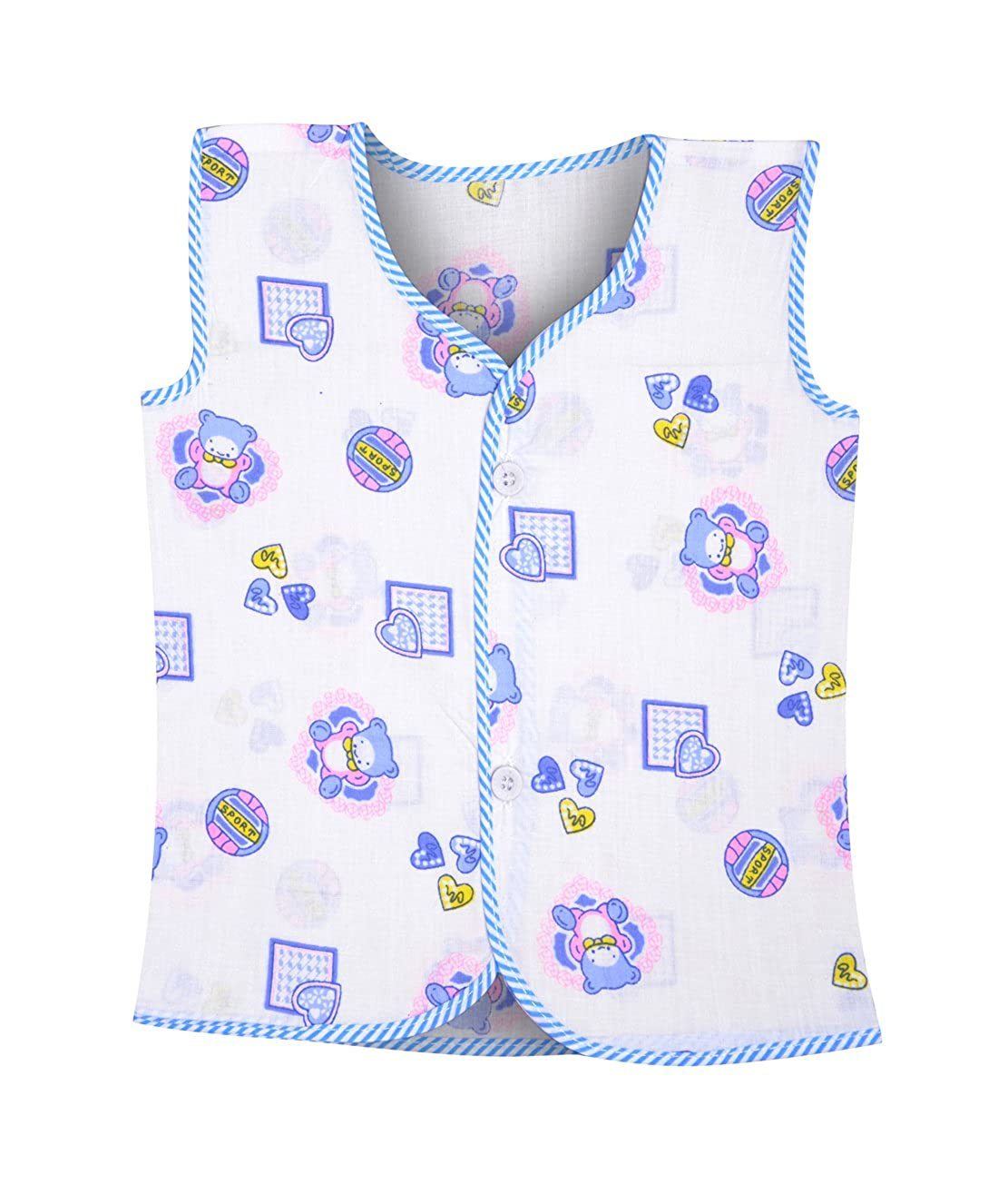3a522e7f1f87 Luke And Lilly Baby Printed Cotton Multi Color Sleeveless Jabla - 6 ...