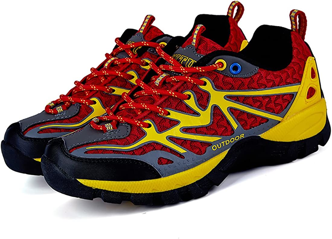 YITU Womens Hiking Shoes Outdoor Trekking Sneakers Fashion Climbing Moutain Shoes