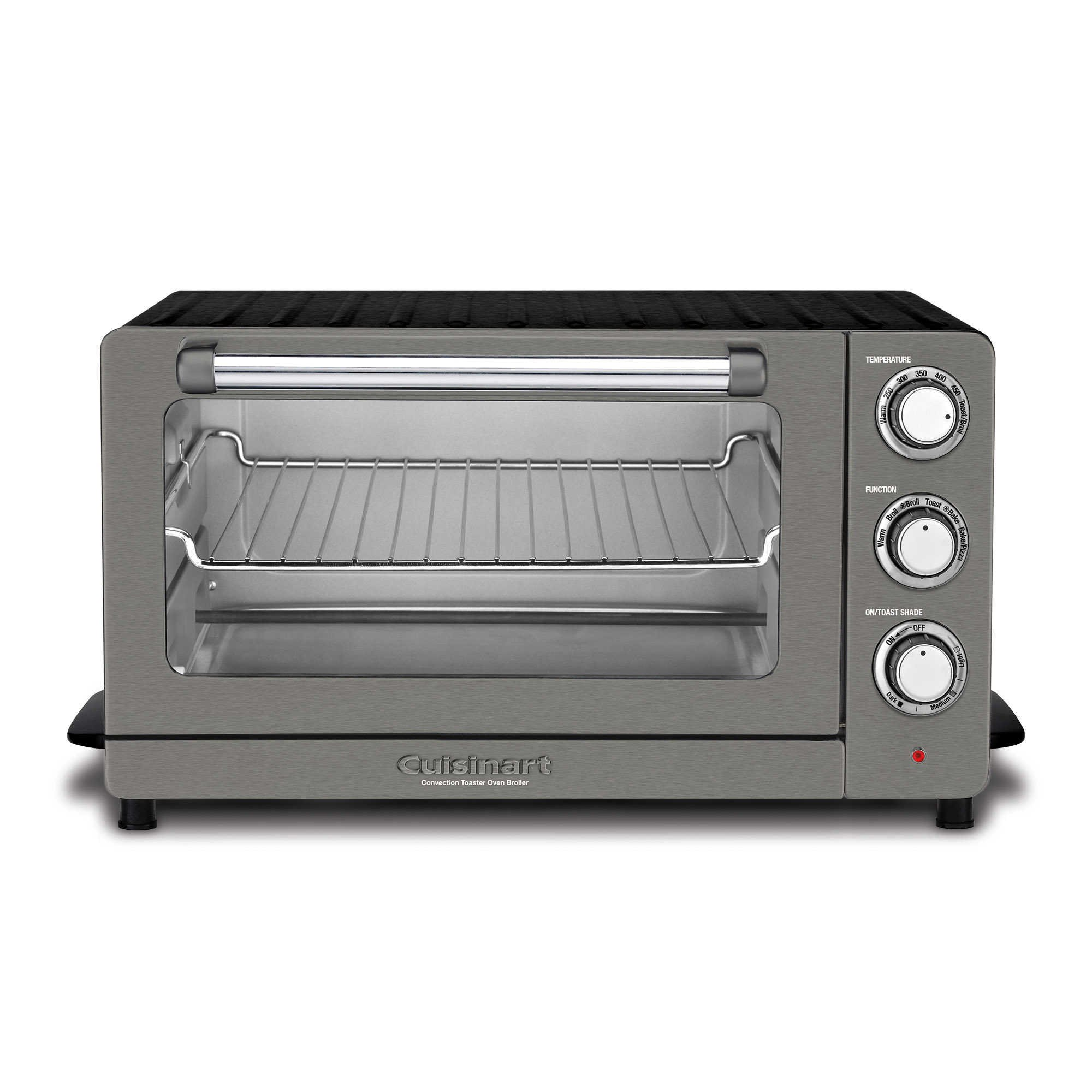 Cuisinart 6-Slice Convection Toaster Oven/Broiler in Black Stainless