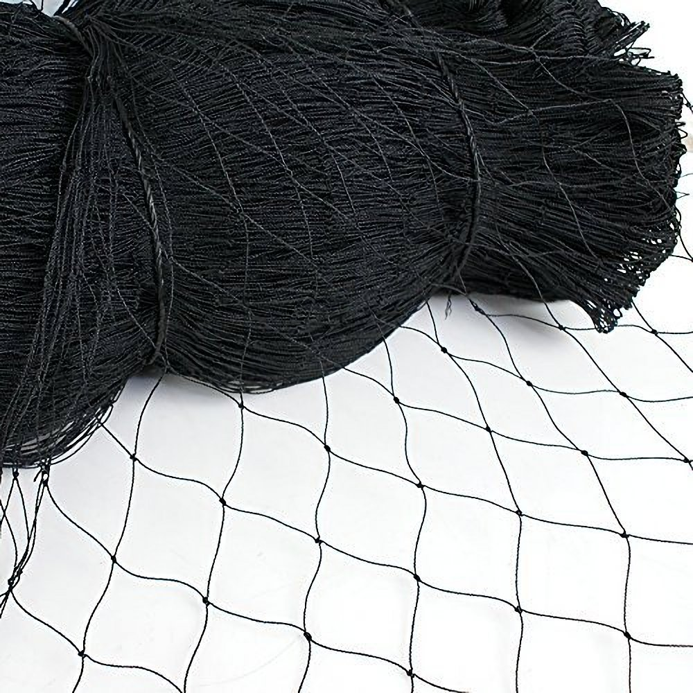 25' X 50' or 50' X 50' Net Netting for Bird Poultry Aviary Game Pens New 2.4'' Square Mesh Size, Garden Netting Protects Fruit Trees & Vegetables from Hungry Birds & Chickens (25'50' with 2.4'' mesh)