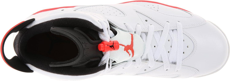 Nike Air Jordan Retro 6 Infrared 384664 123 White