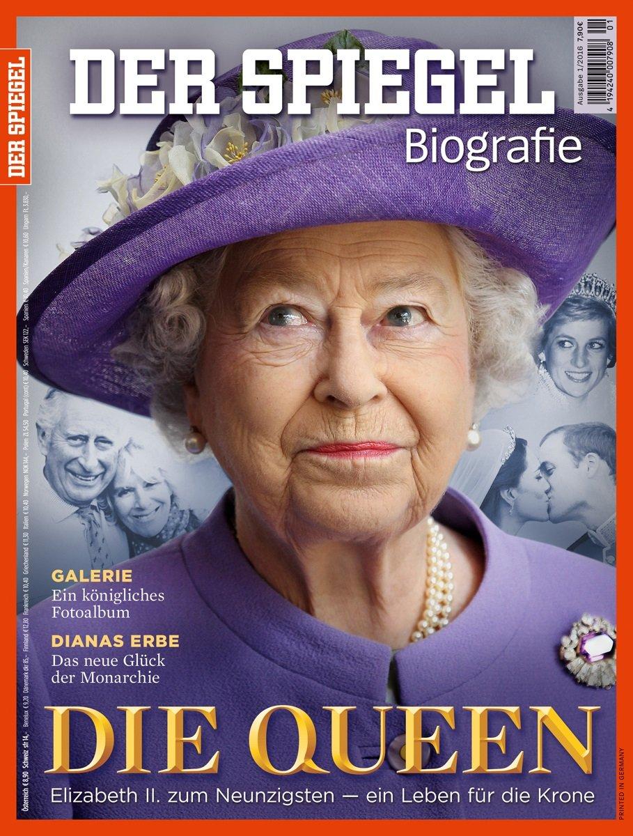 SPIEGEL Biografie 1/2016: Die Queen. Elizabeth II. zum Neunzigsten - Ein  Leben für die Krone: Amazon.de: Joachim Kronsbein: Bücher