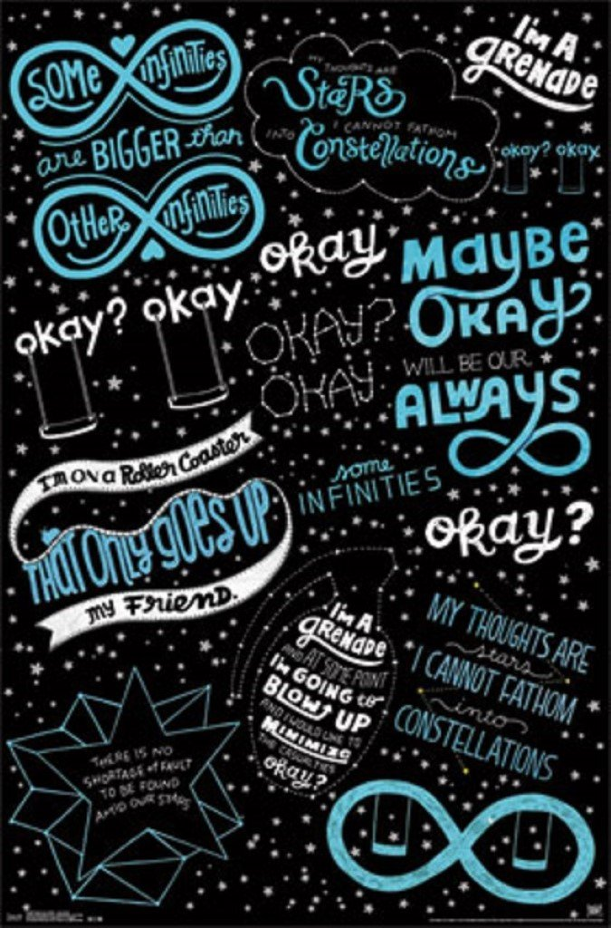 Amazoncom The Fault In Our Stars Quotes Based On The Novel