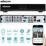 KKmoon 8 Canali 960H D1 Videoregistratore CCTV Network DVR H.264 HDMI Digital Video Recorder