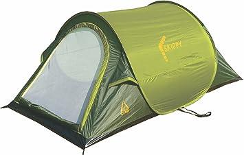 Best C& Skippy Pop Up Tent - Green/Dark Green 220 x 120 x  sc 1 st  Amazon UK & Best Camp Skippy Pop Up Tent - Green/Dark Green 220 x 120 x 90 cm ...