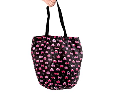 Image Unavailable. Image not available for. Color  Hello Kitty Foldable Tote  Bag  ... 2c5e1ede3c46e