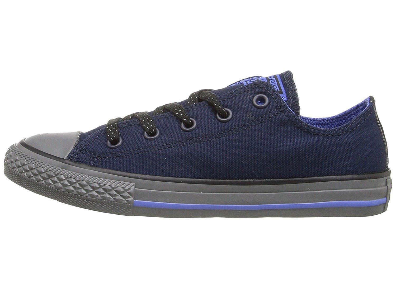 Converse Chuck Taylor All Star Season OX, Unisex Sneaker  20 EU M Gro?es Art|Obsidian/Oxygen Blue/Thunder