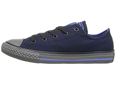 0a917ff0c2a3 Converse Junior Chuck Taylor All Star Ox Obsidian Oxygen Blue Thunder  Sneaker 1M