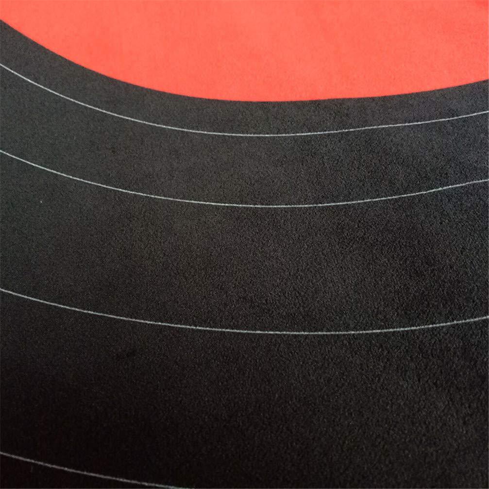 100CM AMON LL Tappeto Tondo per Dischi Musicali precedente Tappeti retr/ò in Vinile personalit/à Creative Fashion zerbino,A,100