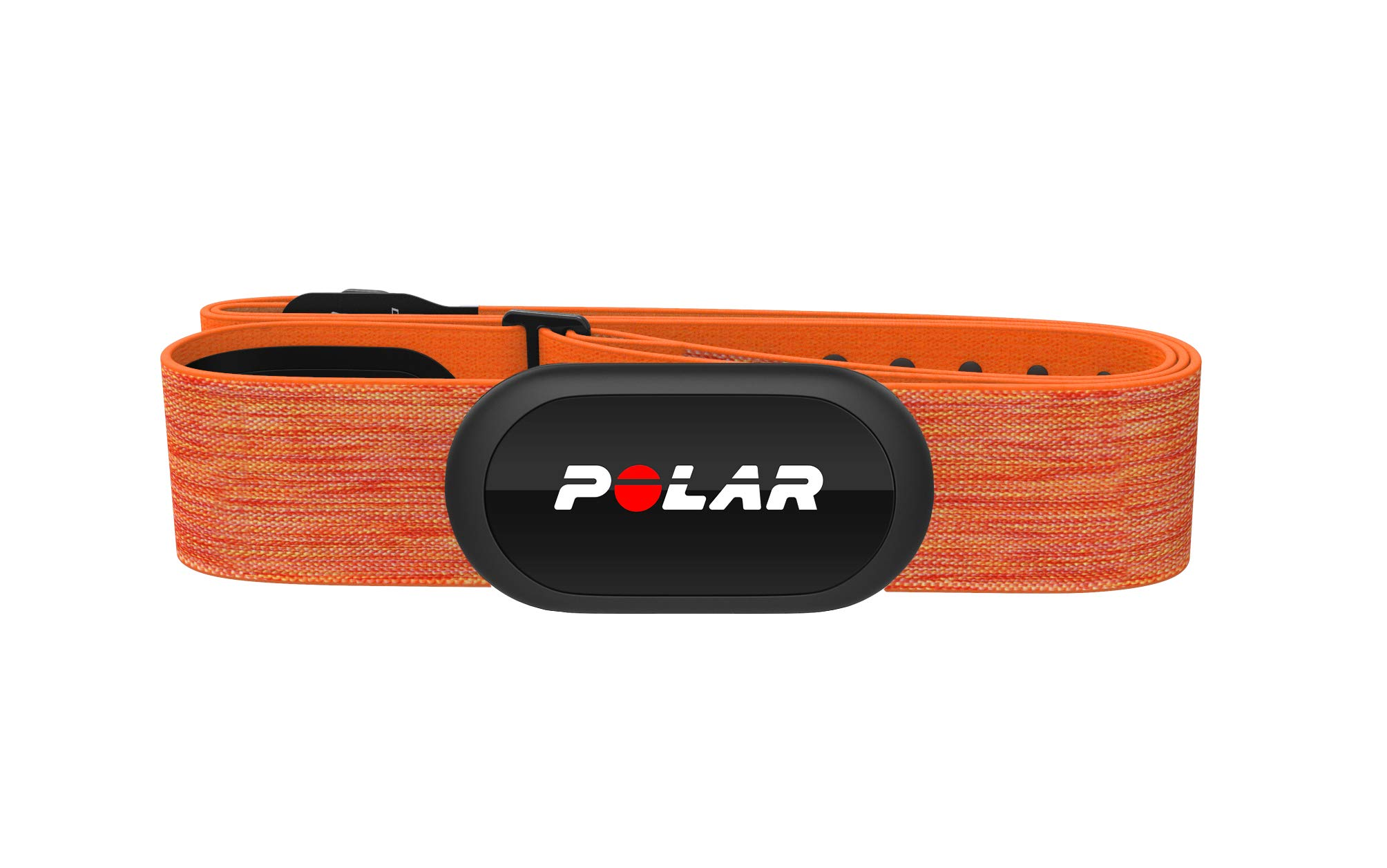Polar H10 Heart Rate Monitor, Bluetooth HRM Chest Strap - iPhone & Android Compatible, Orange
