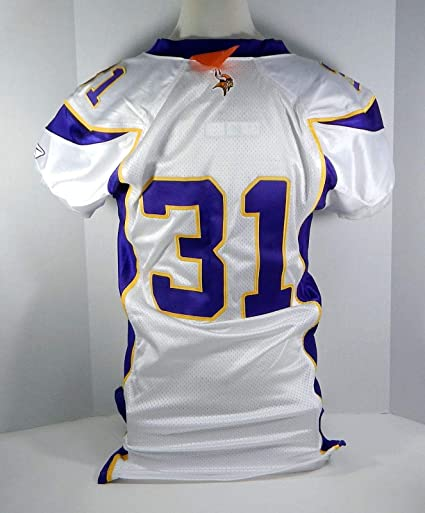 huge discount c6b06 b61f3 2006 Minnesota Vikings Will Hunter #31 Game Issued White ...