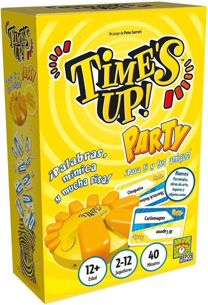Asmodee- Time's Up es el Juego de adivinar Personajes Que Cada día GANA más adeptos, Color (RPTUPA03)