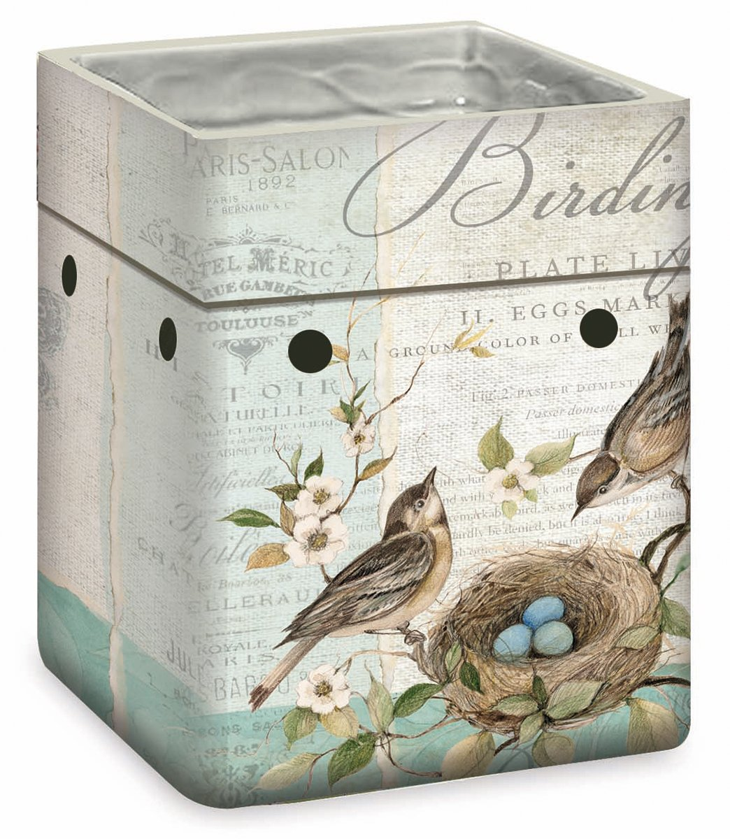 Lang Birding LifeセラミックFragrance Warmer by Susan Winget B0171BWCL0