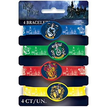Harry Potter Party Favor Stretchy Bracelets [4 Per Pack]