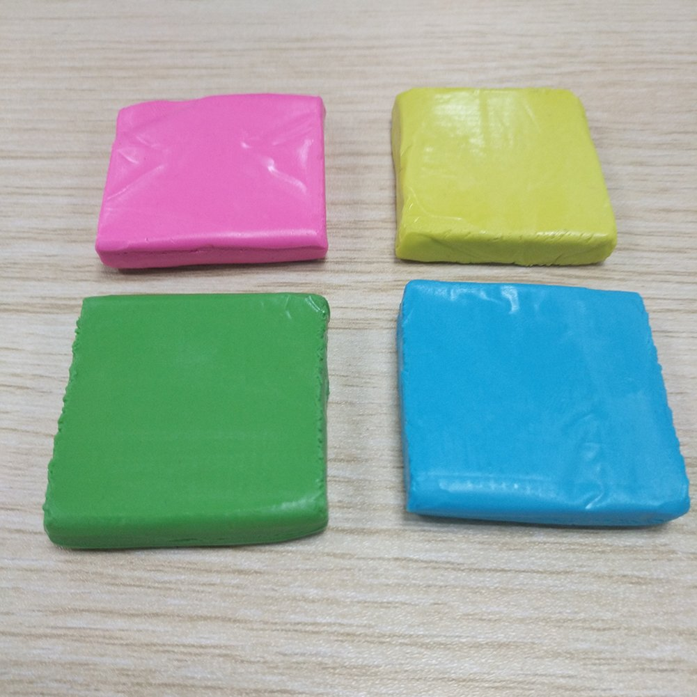 Kneadable Rubber Eraser Set Kneaded Art Eraser XUDOAI Grey Soft Durable Putty Rubber 4 Pack