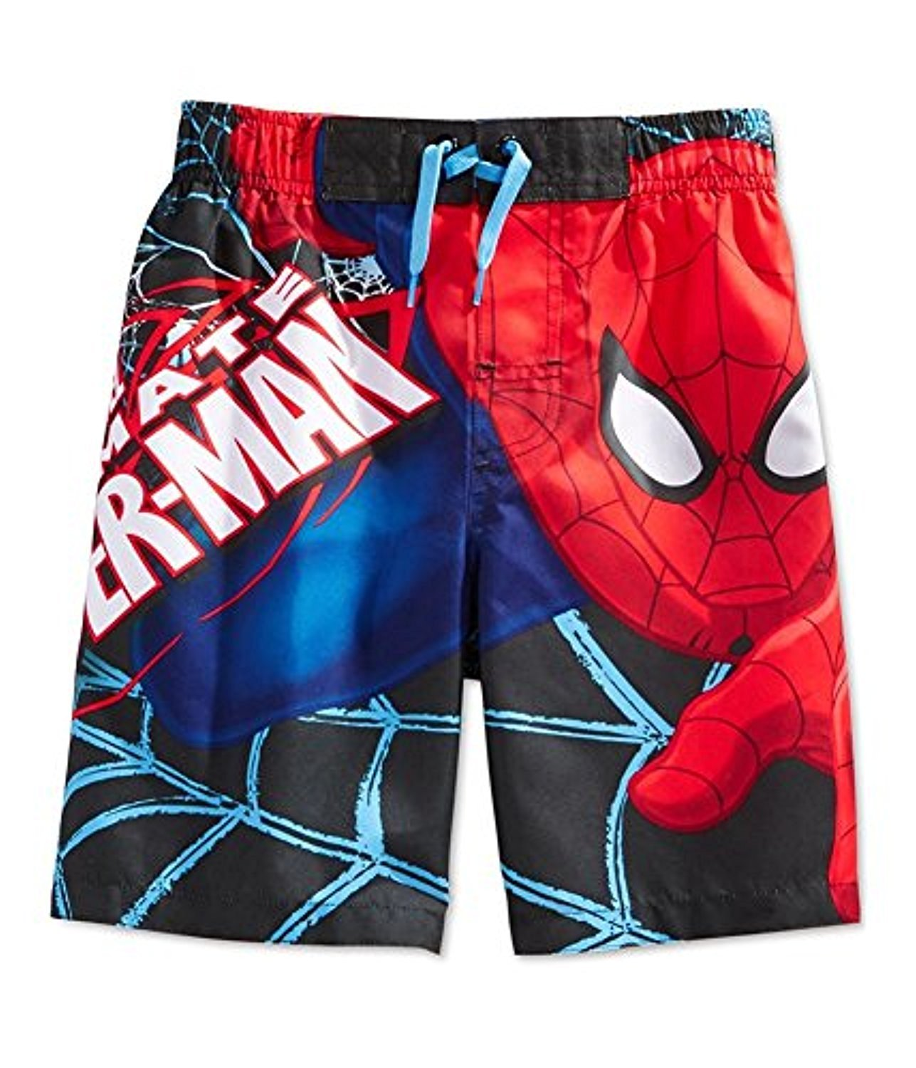 Marvel Ultimate Spider-Man Little Boys Superhero Swim Trunks Board Shorts 357002SP