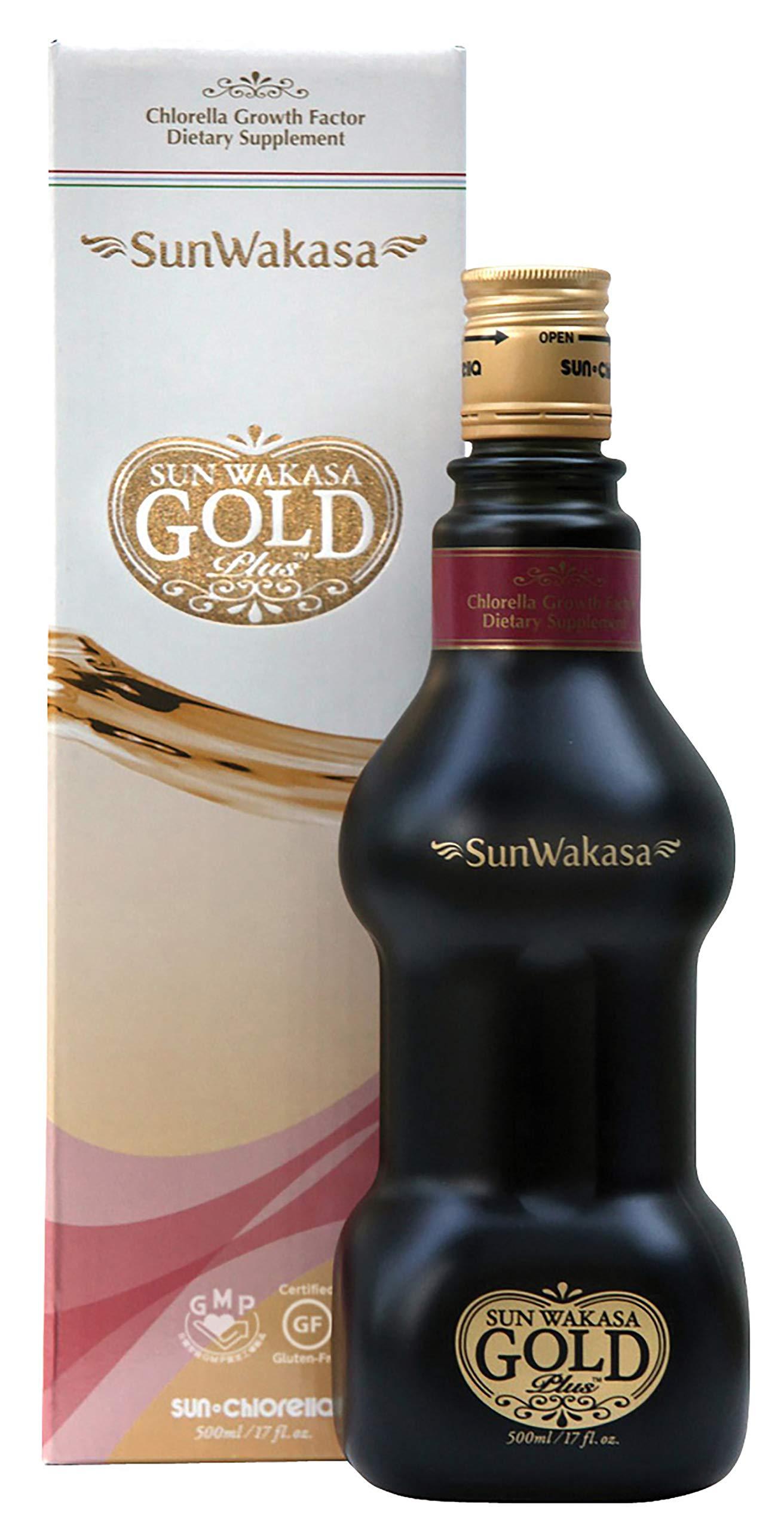 Sun Chlorella- Sun Wakasa Gold with Chlorella Growth Factor- Support Your Health On A Cellular Level (17 Fluid Ounce) by Sun Chlorella (Image #2)