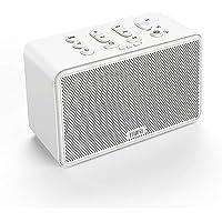 MIFA C10 White Bruit Sleep Aid Appareil à Bruit Blanc avec Mode Veille programmable en Quatre étapes, Prend en Charge Le logement pour Carte SD et Une Interface USB