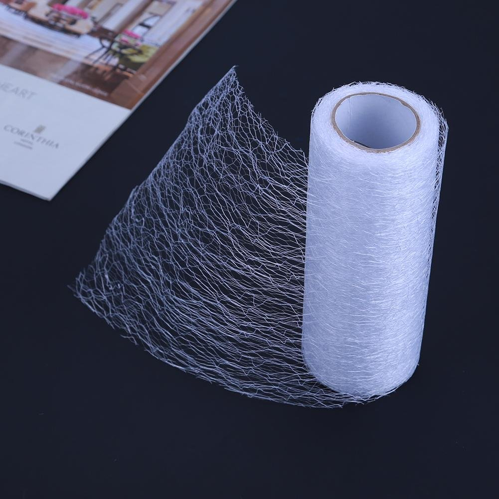 Demiawaking 10 Yards Filamentous Net Tulle Roll Spool Wedding Table Runner Chair Sashes Fabirc Tutu Skirt for DIY Craft Wedding Festival Party Decoration Pink