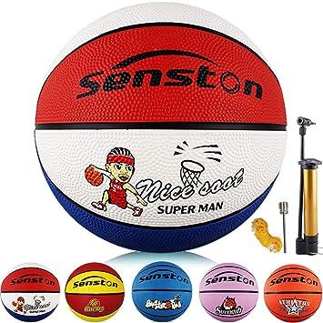 Senston Balon Baloncesto Niños Balon de Baloncesto Pelota ...