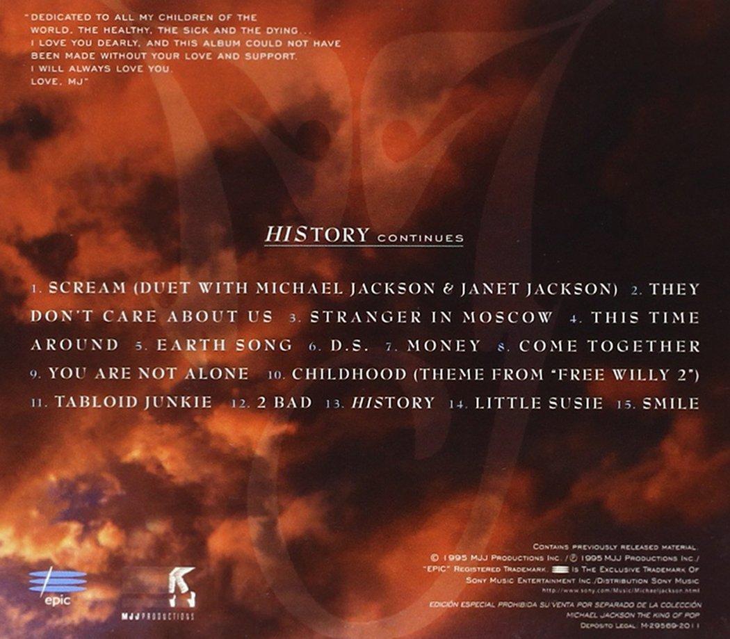 Michael Jackson - History Past, Present and Future Book I - Amazon ...