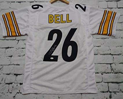 f0dc5da33 Le'Veon Bell Signed Autographed Pittsburgh Steelers White Football Jersey -  JSA COA