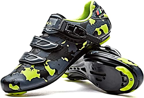 Santic Cycling Shoes Road Bike Shoes Spin Shoes