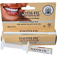THREE PACKS Dr Denti Tooth-Fil Temporary Tooth Filling 3g