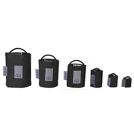 MDF® Adulto - Un tubo Manguito sin látex para presión arterial - Negro (MDF2100451