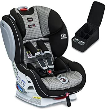 Britax Advocate ClickTight Convertible Car Seat Venti Caddy Bundle