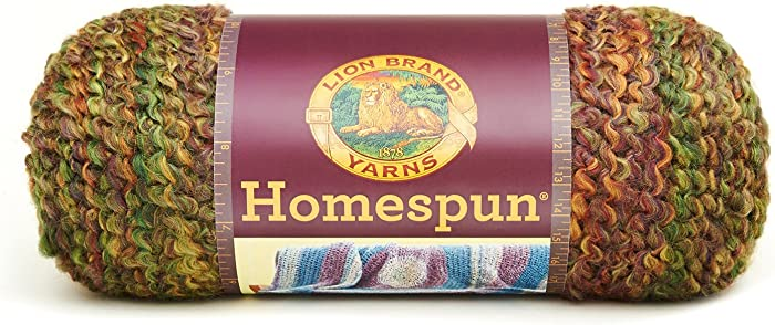 The Best Lion Brand Homespun Yarn Herb Garden