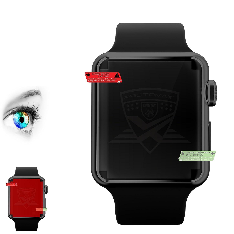 3 x Proto Max Mejor Protector de pantalla para Apple Watch ...