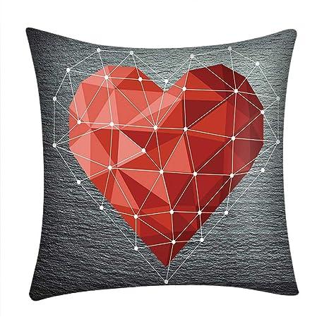 Sencillo Vida Fundas Cojines de Día de Valentín Fundas de ...