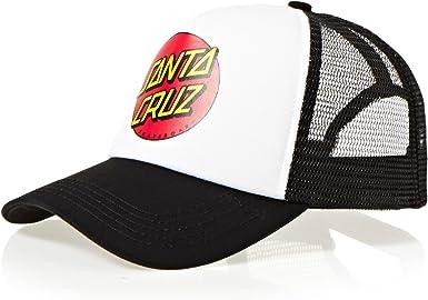 Gorra Camionero Niño Santa Cruz Classic Dot Blanco-Negro (Default ...