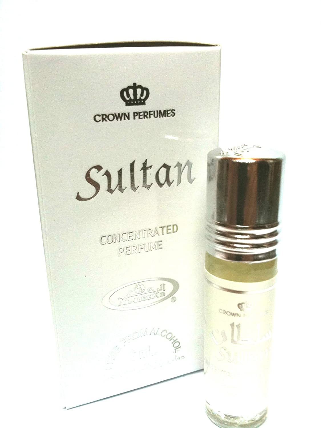 SULTAN 6ml Best Selling Al Rehab Perfume Oil- Top Quality Fragrance