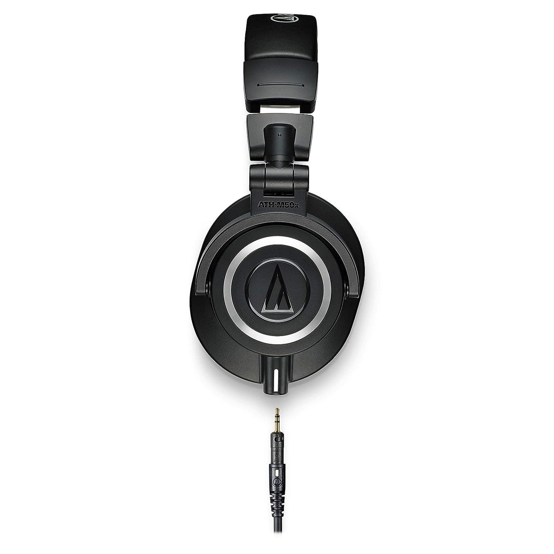 ATH-M50x Over-Ear Professional Studio Monitor Headphones