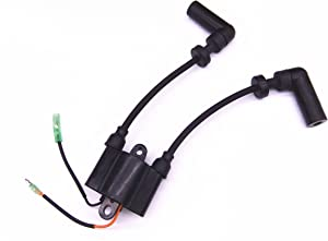 Boat Motor 339-803559A02 Ignition Coil for Mercury Quicksilver Outboard Engine 4-Stroke 8HP 9.9HP, Sierra Marine 18-23207