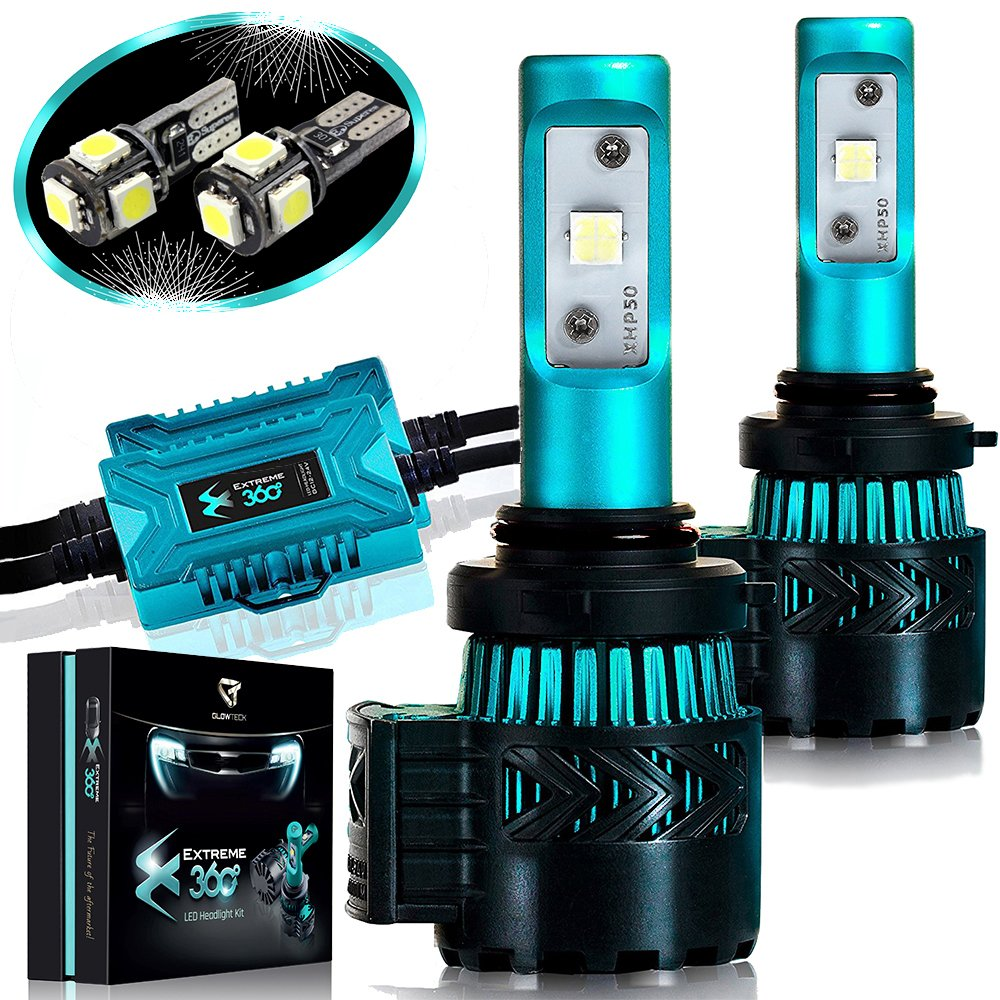 Led Headlight Bulbs Conversion Kit 9006hb4cree Xhp50 After Market Wiringheadlightmotorcyclepwhl22202101 Chip 12000 Lumen Pair 6k Extremely Bright 68w Cool White 6500k For Greater