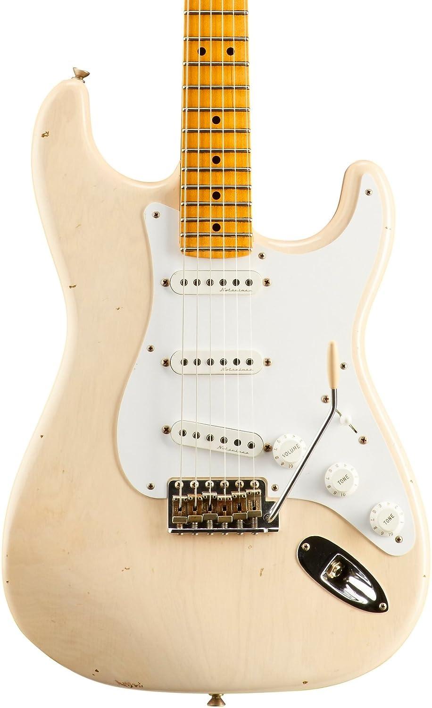 Fender Custom Shop Custom Artist Series ERIC CLAPTON SIGNATURE STRATOCASTER JOURNEYMAN RELIC (Aged White Blonde) B06X6DNCMN