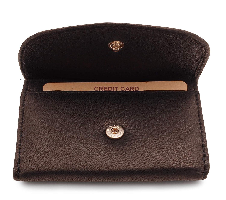 Billetera Azul Monedero de Minimalista de Compacto Benthill Cartera de Cuero de Peque/ño Bolsillo para Billetes Carteras de Cr/édito