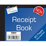 Just Stationery NCR Half Size Receipt Book
