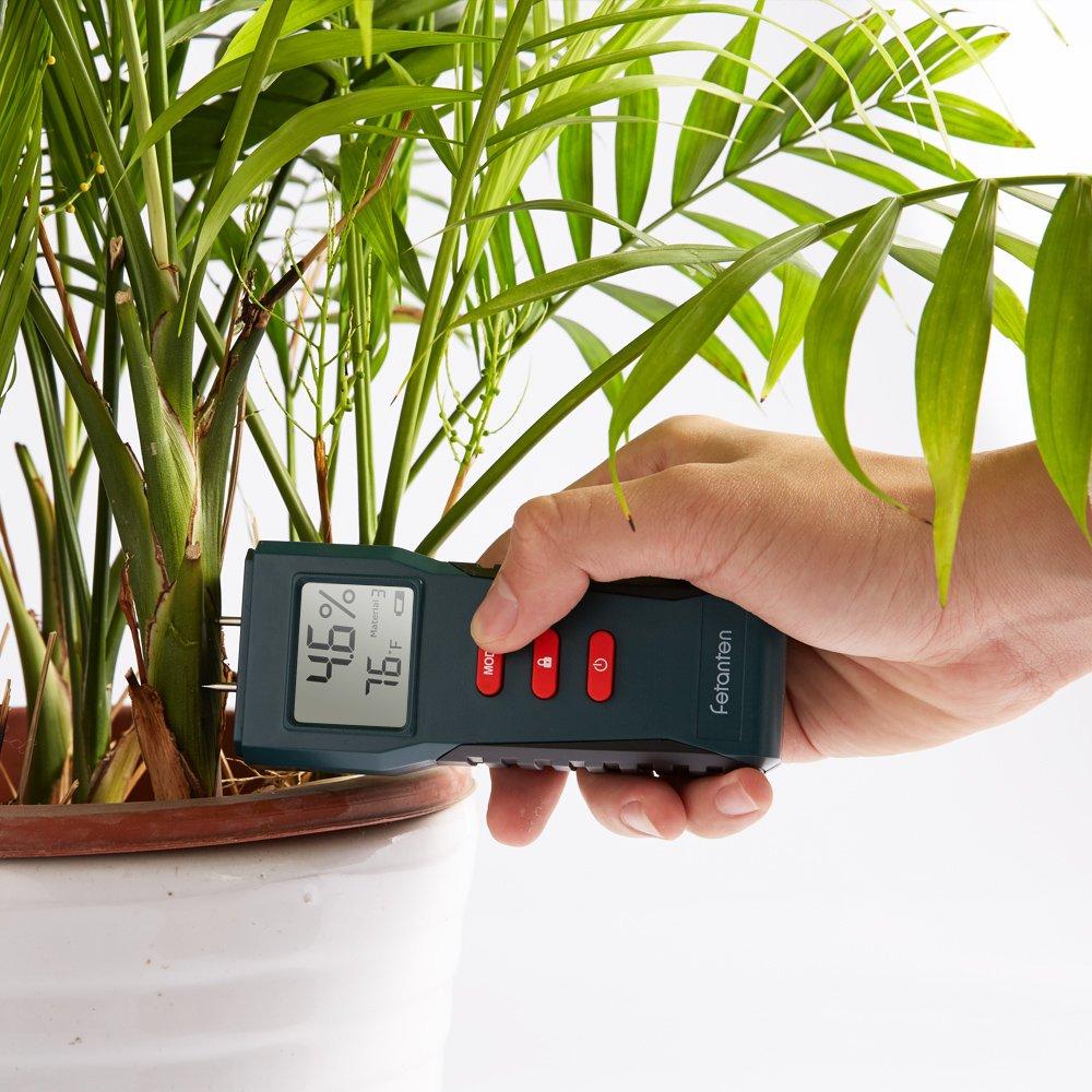 Fetanten TS006 Soil Moisture Meter Digital LCD Moisture Detector