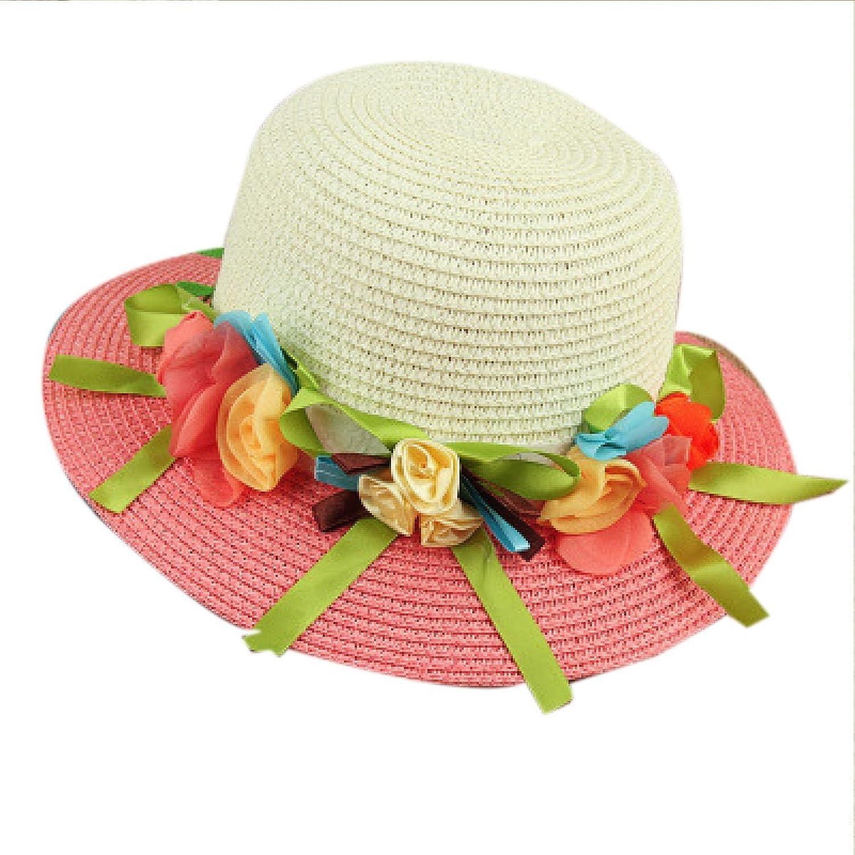 Fille Enfant Fleurs Lovable Respirante Grand à Larges Bords Chapeau De Soleil